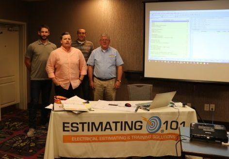 4-Day Estimator Training Workshop – Buffalo, NY