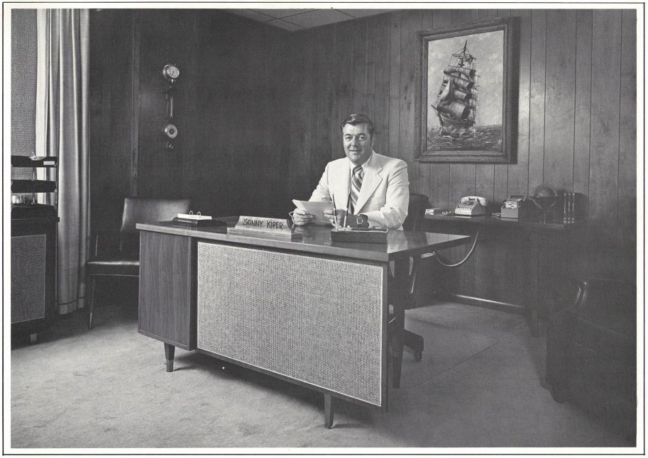 My Dad, Sonny Kiper (circa 1970) President of Wilson Electric, Inc Mobile Alabama